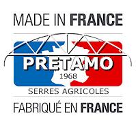 Serres agricoles Pretamo fabriquée en France depuis 1968